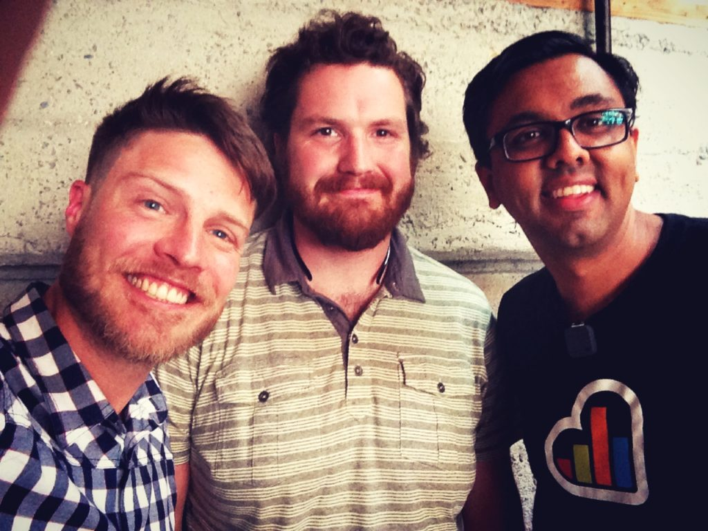 Justin Jackson, Justin Abrahms, Hiten Shah of Kissmetrics