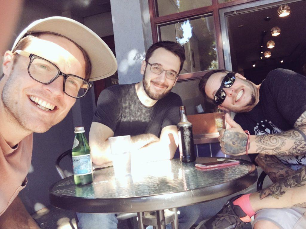 Justin Jackson, Jarrod Drysdale, Paul Jarvis in Victoria, BC